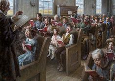 Morgan Weistling - The Prairie Church - LIMITED EDITION CANVAS from the Greenwich Workshop Fine Art Gallery featuring fine art prints, canvases, books, porcelains and gift ideas. Morgan Weistling, Pet Frogs, Workshop, Christian Art, Christian Church, Christian Quotes, Western Art, Limited Edition Prints, Fine Art Gallery