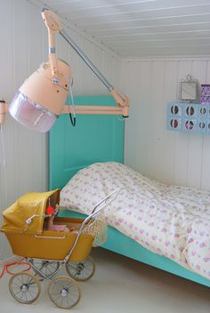 the boo and the boy: vintage pieces in kids' rooms