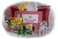 Geldgeschenke - Hochzeitsgeschenk  - Name  - Ehe-Notfall-Paket - ein Designerstück von antjesdesign bei DaWanda