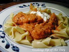 Cooking Tip of the Day: Chicken Paprikash