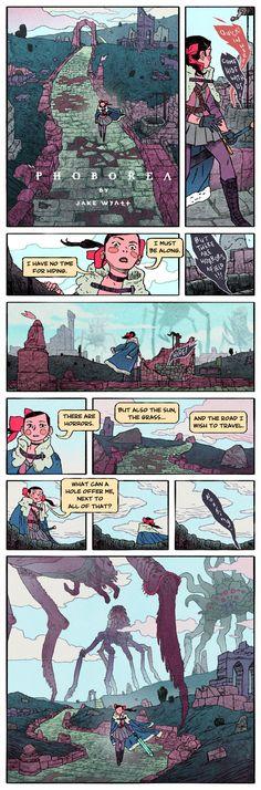 NECROPOLIS II by JakeWyatt http://jakewyatt.deviantart.com/art/NECROPOLIS-II-373046636