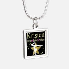 BEST GYMNAST Silver Square Necklace Calling all Gymnasts! Be inspired with our beautiful selection of personalized Gymnastics Jewelry  http://www.cafepress.com/sportsstar/10114301 #Gymnastics #Gymnast #WomensGymnastics #Lovegymnastics #Personalizedgymnast #Gymnastjewelry