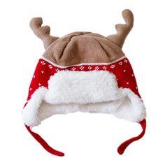 9747b7b7b39 Home Prefer Baby Girl Boy Kid Christmas Hats Soft Cotton ... https