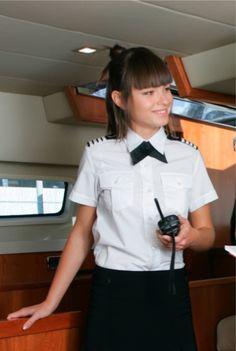 Blouse Gibraltar - YU - Dolphin wear Yacht Uniforms