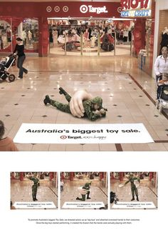 Ambient advertising is such an entertaining and engaging way to build your brand.