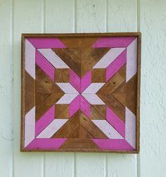 Reclaimed Wood Wall Art Gift Ideas Girls Bedroom by PastReclaimed