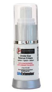 Cosmesis Under Eye Rescue Cream Life Extension 0.5 oz Cream * You can find more details by visiting the image link.
