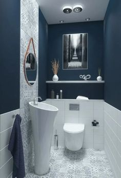 bathroom ideas small on a budget - bathroom ideas _ bathroom ideas small _ bathroom ideas on a budget _ bathroom ideas modern _ bathroom ideas master _ bathroom ideas apartment _ bathroom ideas diy _ bathroom ideas small on a budget Contemporary Bathroom Designs, Bathroom Design Small, Bathroom Interior Design, Modern Bathroom, Guest Bathrooms, Downstairs Bathroom, Budget Bathroom, Bathroom Ideas, Bathroom Storage