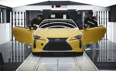 "On a dedicated line at the Toyota Motomachi Plant in Aichi, Japan, Lexus' most skilled craftspeople, known as Takumi, Japanese for ""artisan,"" work on LC production. Many of the same staff worked on Lexus' LFA at the Motomachi plant and now they're using the skills…"