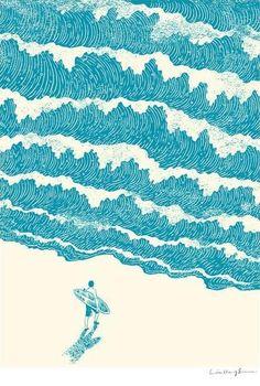 illustration of waves