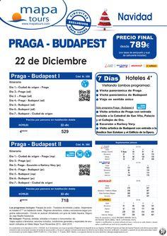 Praga - Budapest salida 22 Diciembre **Precio Final desde 789** ultimo minuto - http://zocotours.com/praga-budapest-salida-22-diciembre-precio-final-desde-789-ultimo-minuto/