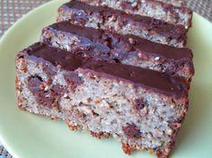 Fotorecept: Cuketovo-čokoládový chlebík z ovsených vločiek