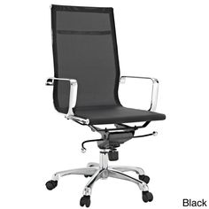 $227 - Regis All-mesh Black High Back Conference Office Chair | Overstock.com