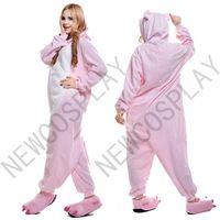 4ffc8ee79c 2015 Hot Sale Unisex Cosplay Cute Animal Onesie Pajamas Costume Pink Pig Onesie  Animals For Kids
