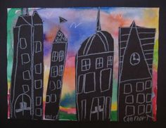 Sunset Cityscapes (also the blog is a good source for other projects)