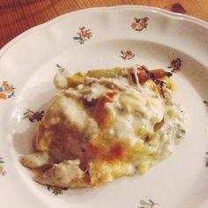 Mme Zsazsa vertelt: Herfstige lasagne met pompoen en nog wat anders