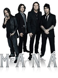 Legendary Latin Rock Band, Maná.