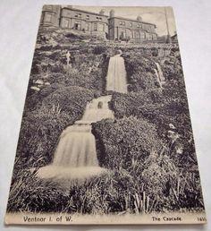 The Cascade - Ventnor - Isle of Wight - Antique Vintage 1907 Postcard Ventnor Isle Of Wight, Postcards, Antiques, Vintage, Decor, Antiquities, Antique, Decoration, Vintage Comics