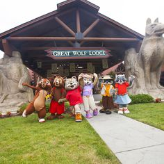 Meet Wiley and the rest of the Great Wolf Kids at Great Wolf Lodge Pocono Mountains, PA. GWLPoconoReady