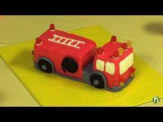 firetruck cake for little man @Jessica Dunham. this is so cute!