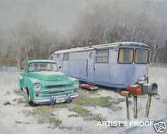 great painting for sale on ebay! same as our Spartan trailer .