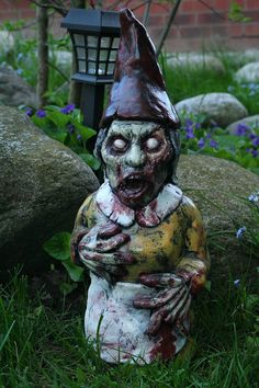 Bloody Mary Zombie Gnome by RevenantFX on Etsy, $60.00