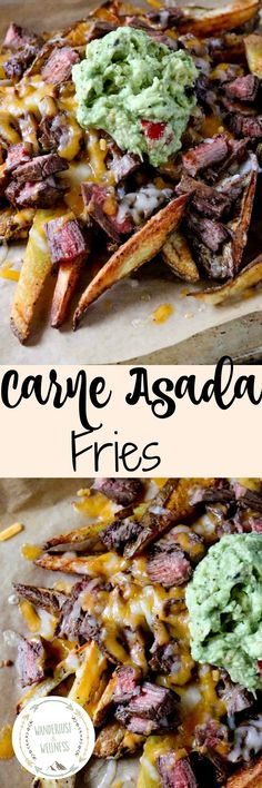 Homemade Carne Asada Fries