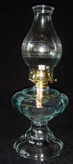 Home Decor  Glass Kerosene House Lamp by OhioHandcrafted on Etsy, $34.95