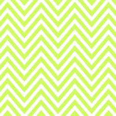 Pattern Pieces - Chevron - lemony lime - Sprik Space - 2400x2400px