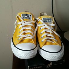 Converes Yellow converes Converse Shoes Sneakers