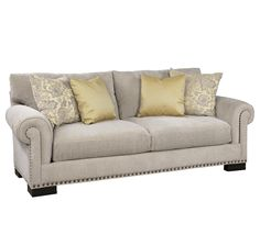 Crawford Stationary Sofa by Jonathan Louis at Conlin's Furniture