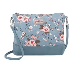 Trailing Rose Mini Cross Body Bag In Canvas & Leather | Cath Kidston |