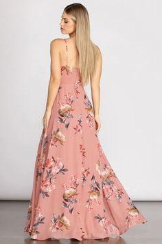 Floral Dress Outfits, Floral Chiffon Dress, Fashion Dresses, Chiffon Fabric, Cute Dresses, Casual Dresses, Dresses For Sale, Formal Dresses, Top Wedding Dresses