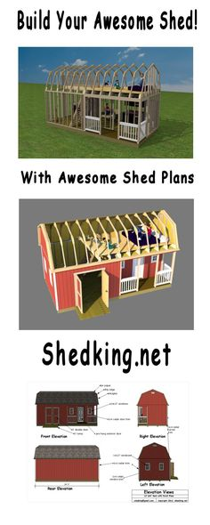 Easy to use plans with detailed building guides, materials lists, and email support.