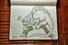 A POÉTICA DA EVOLUÇÃO NAS ILUSTRAÇÕES DE DIBIS http://www.souzaarte.com/#!untitled/cnfd/tag/caricatura