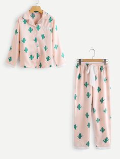 Shop Cactus Print Top And Drawstring Waist Pants online. SheIn offers Cactus Print Top And Drawstring Waist Pants & more to fit your fashionable needs.