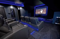 Sci Fi Theater - now THIS is my dream room!!!  Live long and prosper!