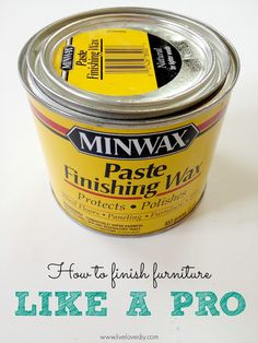 10 Paint Secrets: How to get the perfect finish when painting furniture! Good to know!