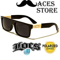 02d5307967 Locs OG Cholo Flat Top Square Gangster Sunglasses Street Dark Smoke Black  91075 for sale online