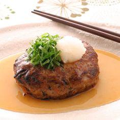 和風ハンバーグ。Japanese hamburger.