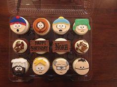 South Park cupcakes❤️
