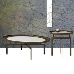 NERA round low table