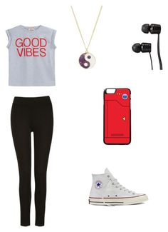 """Untitled #44"" by jordan-eshun on Polyvore featuring N°21, Converse, Vans and Monsoon"