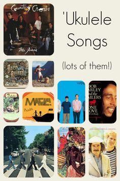 Chords for rock, pop, Hawaiian, and reggae tunes on your 'ukulele