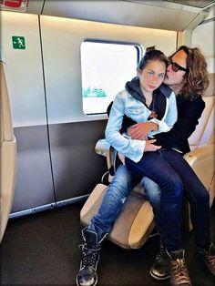 Chris Cornell & his daughter Toni