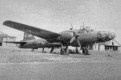 Japanese bomber Mitsubishi Ki-67 «Hiryu» Air Force Base Matsumoto