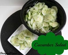 Cucumber Salad-Pinnable