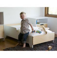 Hiya Toddler Bed in Birch #toddler #bed #boys #bedroom