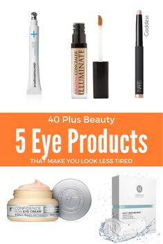 Checkout my round-up of 5 beauty products that make women 40 Plus Look Less Tired