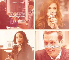 harvey & I are like this <3 {gif} #suits